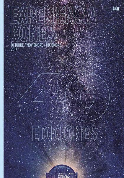 Portada revista Konex #40