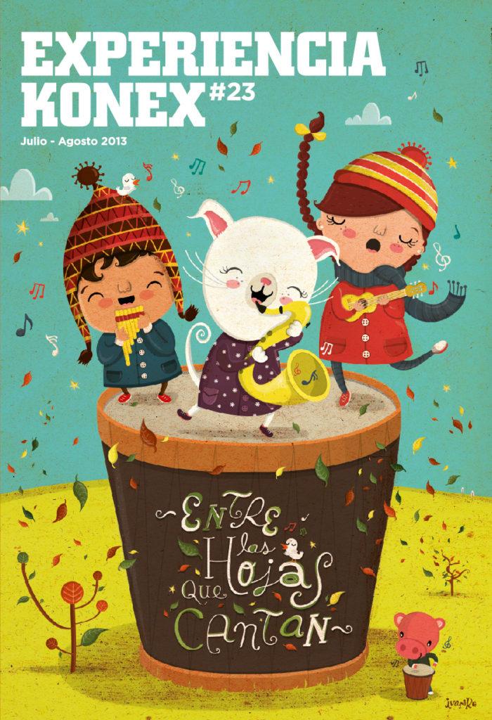Portada revista Konex #23
