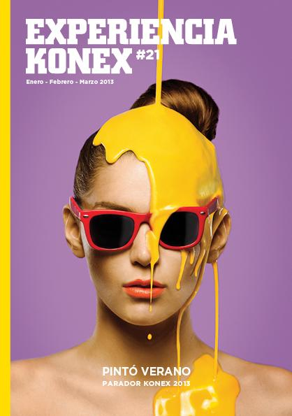 Portada revista Konex #21