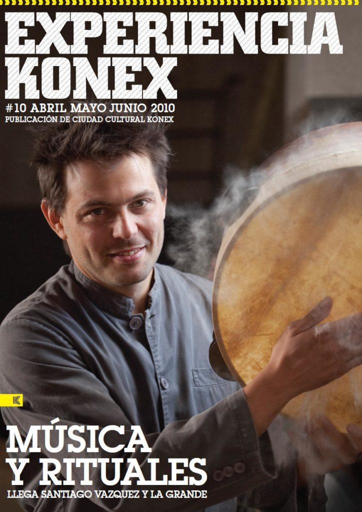 Portada revista Konex #10