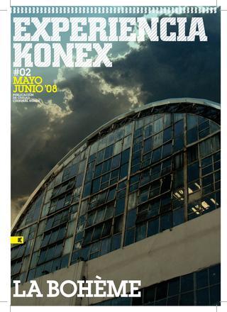 Portada revista Konex #2