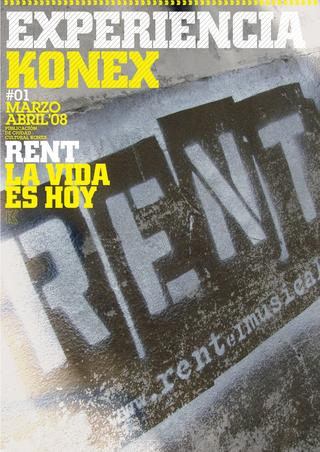 Portada revista Konex #1