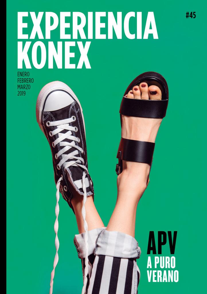 Portada revista Konex #45
