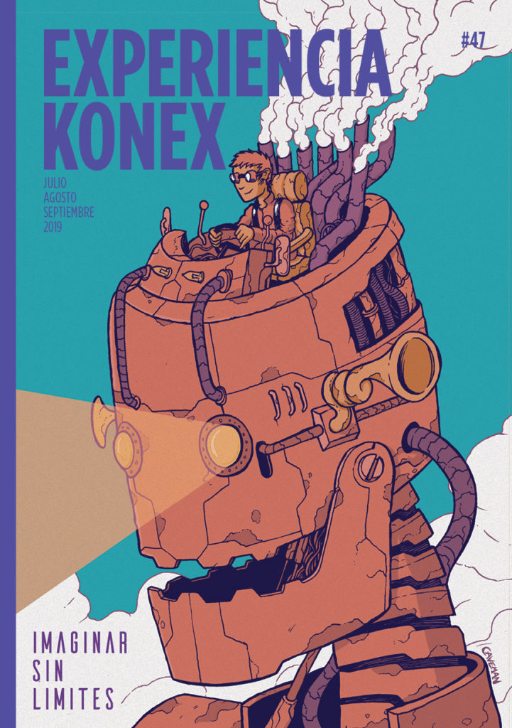 Portada revista Konex #47